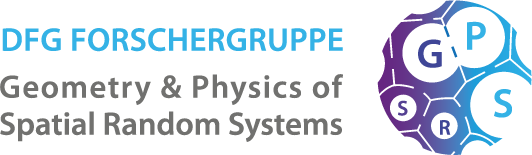 Geometry & Physics of Spatial Random Systems Logo